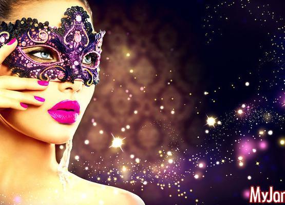 Красивый макияж для новогодней ночи
