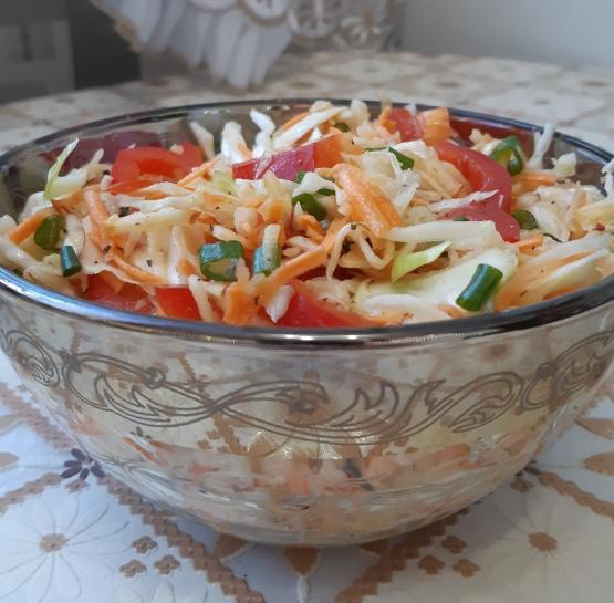 """Овощной салат """"Осень"""""""
