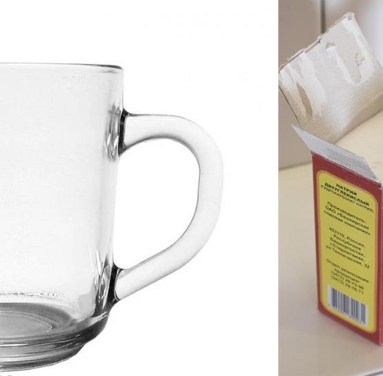 Ապակե բաժակների մեջ կես թեյի գդալ սոդա լցրեք, նոր լվացեք, տեսեք դրանից հետո ինչ տեղի կունենա