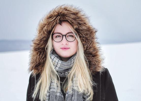 Теплые шарфы: стиль 2019