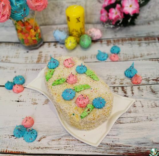 """Пасхальный вафельный торт """"Нежность"""""""
