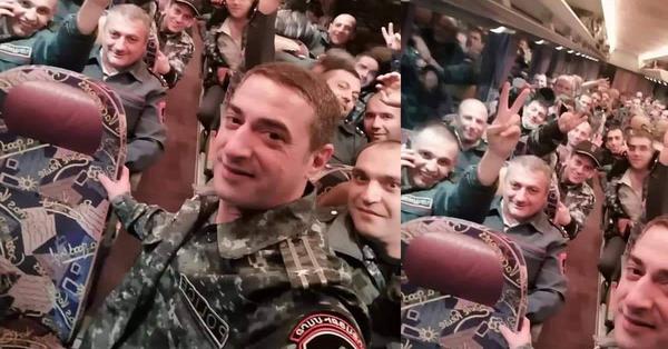 ՀՀ ոստիկանները մեկնեցին սահմանը պաշտպանելու․ Փառք ու պատիվ մեր տղաներին
