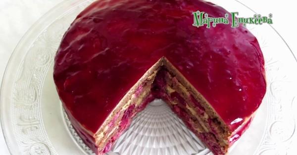 Տորթ Հարբած բալ․ Պատրաստեք այս հրաշալի տորթը առանց թխելու, նոր բաղադրատոմս