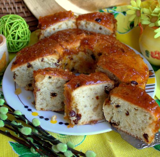 Кекс на кефире и оливковом масле