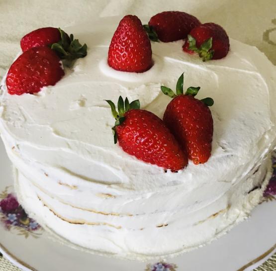 Творожный торт юности
