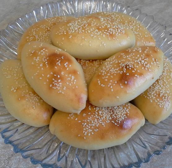 Пирожки на кефире с черемшой