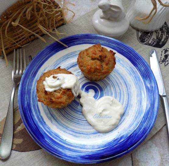 Закусочные чечевичные кексы