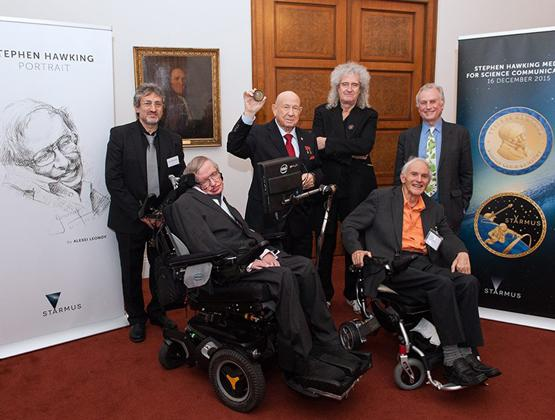 Starmus Announced on Stephen Hawking Medals for Science