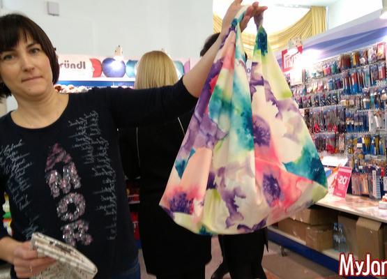 """Акция """"Покед, пакет!"""" Шьем сумку для покупок в японском стиле"""