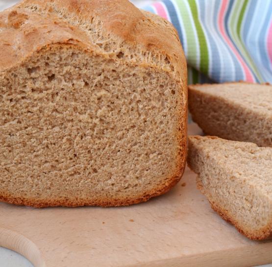 Ржаной хлеб на тёмном пиве в хлебопечке