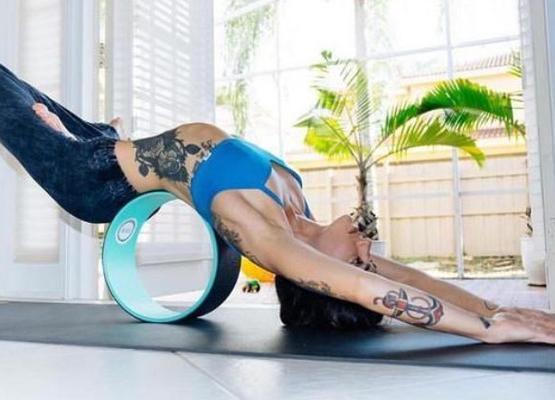 Энциклопедия приспособлений для йоги: колесо