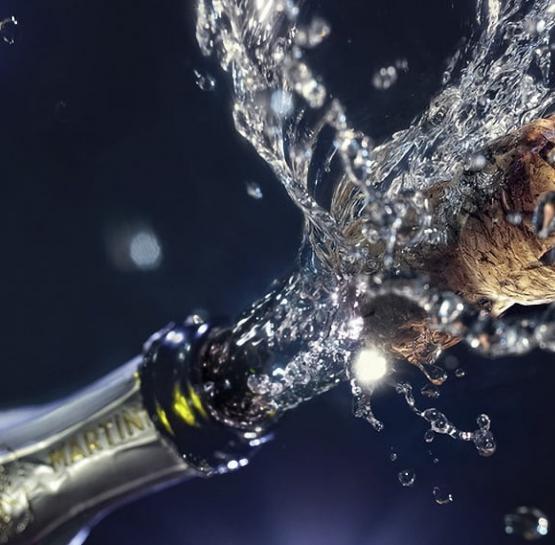 Приближается время шампанского!