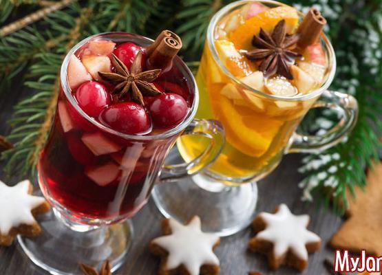 Рецепты освежающих напитков для новогоднего стола