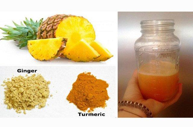 Pineapple And Turmeric Drink Reverses Cancer-Causing Inflammation And Even Beats The Common Cold!