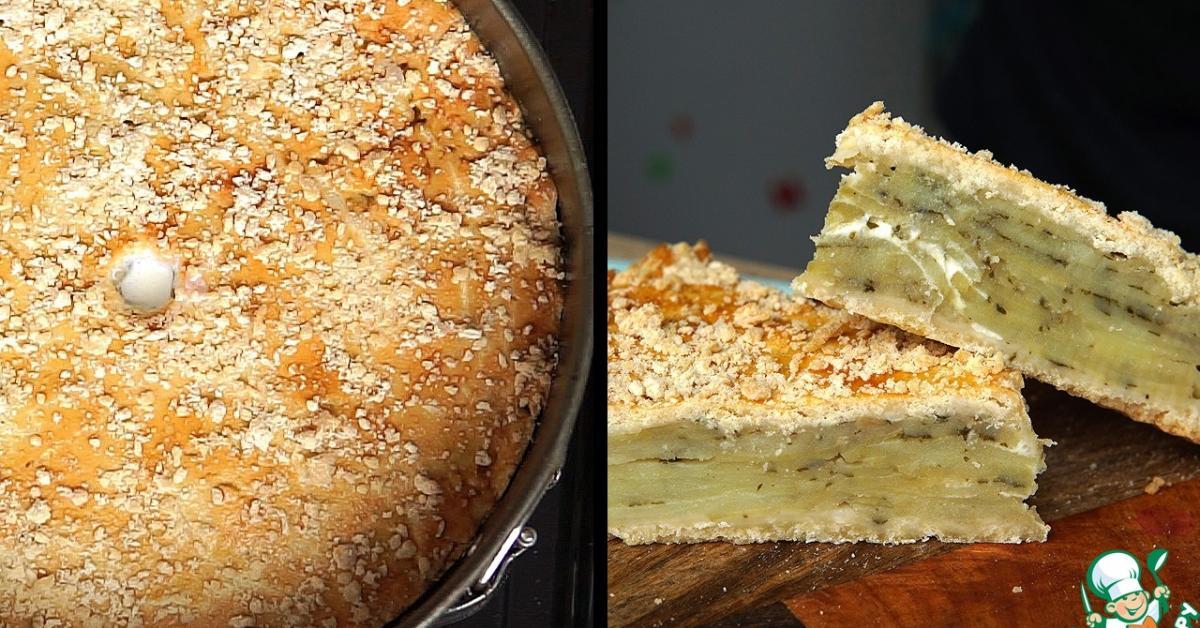 Французский картофельный пирог