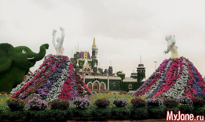 Это надо видеть хотя бы раз в жизни: Сад чудес в Дубае