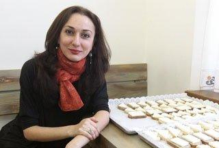 Healing cheese presented by Armenian young scientists