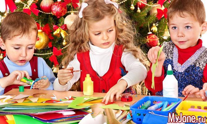 Что ты творишь: какие украшения для дома сделать с детьми к Новому году